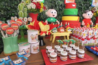 decoração festa turma da monica  (1).JPG