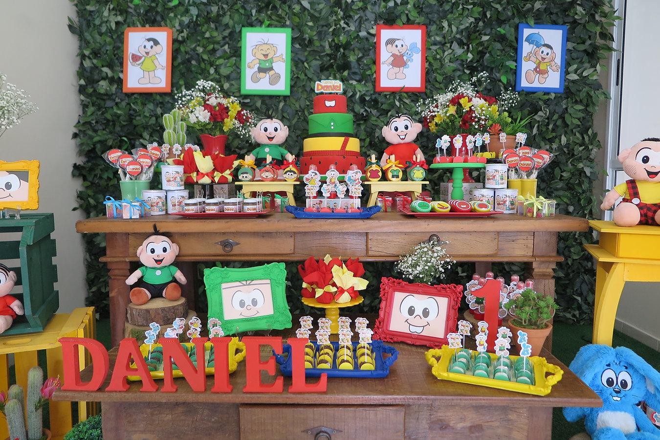 decoração festa turma da monica  (6).JPG