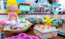 mesa de doces decorada sereias.JPG