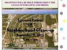 September Neighborhood Cleanup