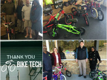 Bikes for Tykes in Lynmore Estates