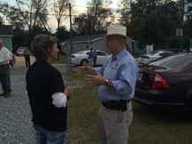 Top Cop Leads Walk for Safety in Bibb County