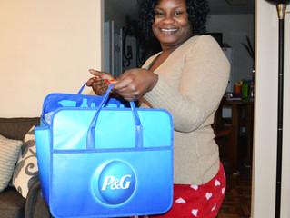 P&G Welcomes homeowners to their new homes...