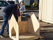 "Students Build a ""Habitat"" for Dogs in Lynmore Estates – Saturday, March 7, 2015"