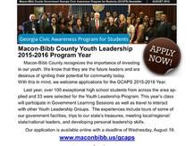 Macon-Bibb County Youth Leadership (GCAPS)