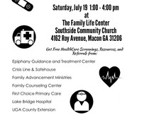 Shalom Zone Health Fair