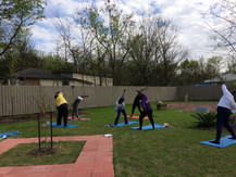 Meditation Session in Lynmore Estate's Meditation Garden