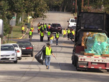 Lynmore Estates Clean Up Event Has More Than 100 Volunteers