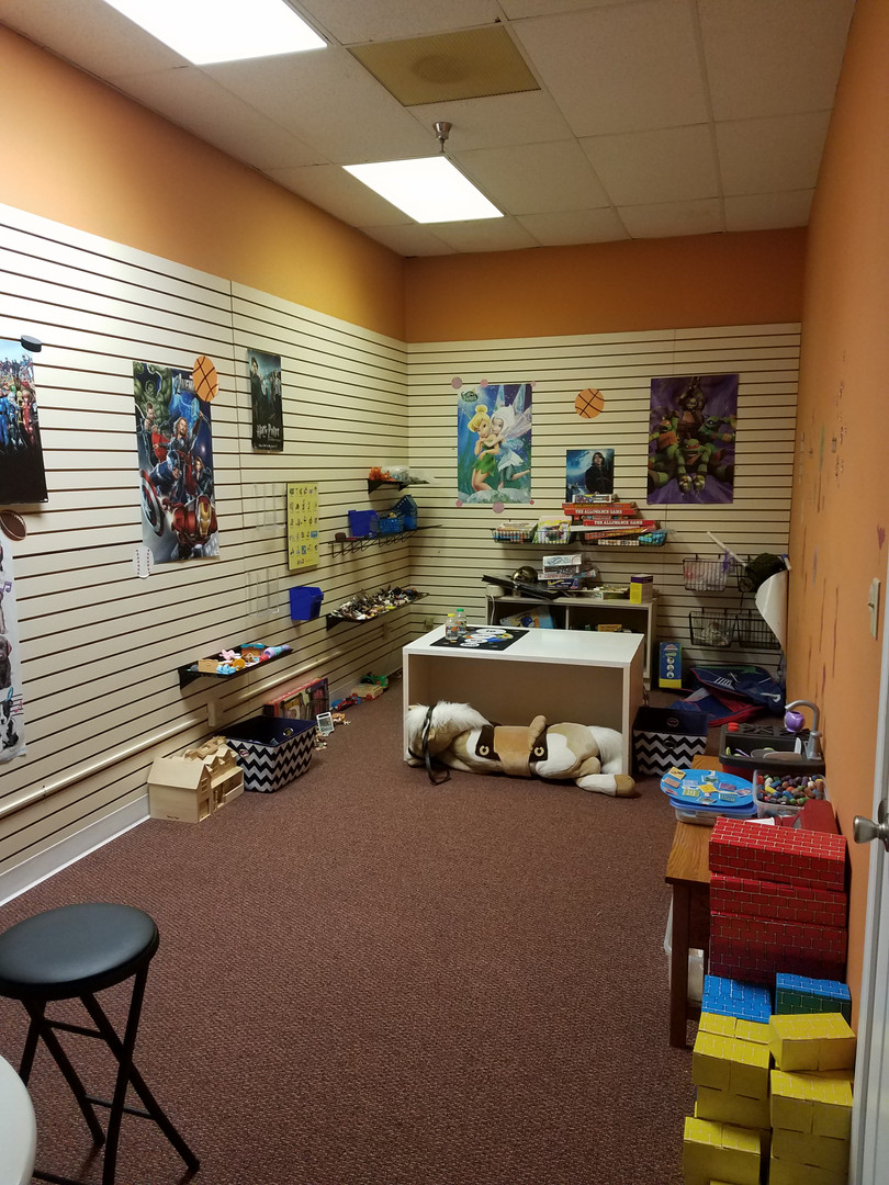 Colby CAC Play Therapy Room