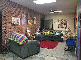 Garden City family waiting room