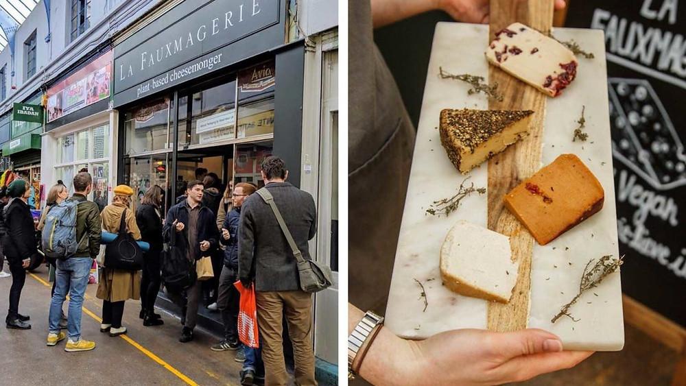 První britská veganská sýrárna La Fauxmagerie