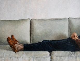 Homebound, oil on canvas, 30x40cm, 2020.jpg