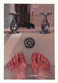 Man in bath