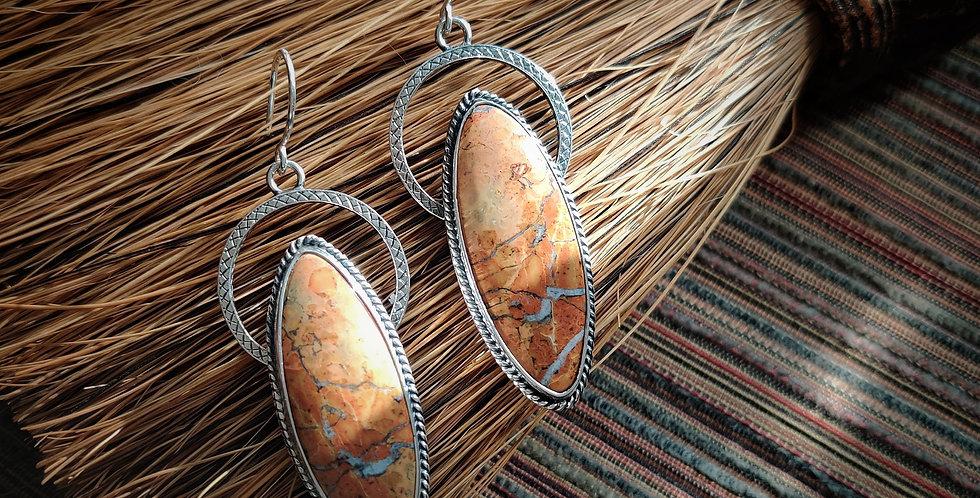 Red Rocks Refuge .. earrings