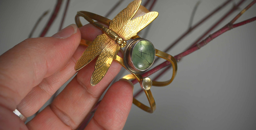 Twilight Rest .. cuff bracelet