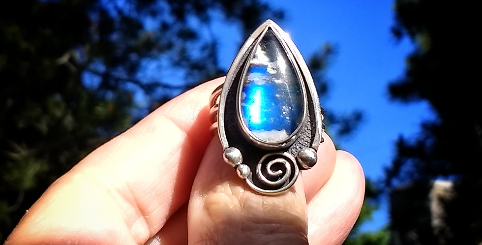 Cosmic Teardrop .. ring