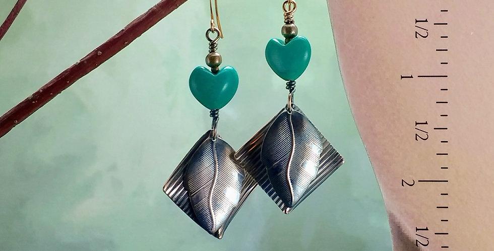 Be Mine .. hook earrings