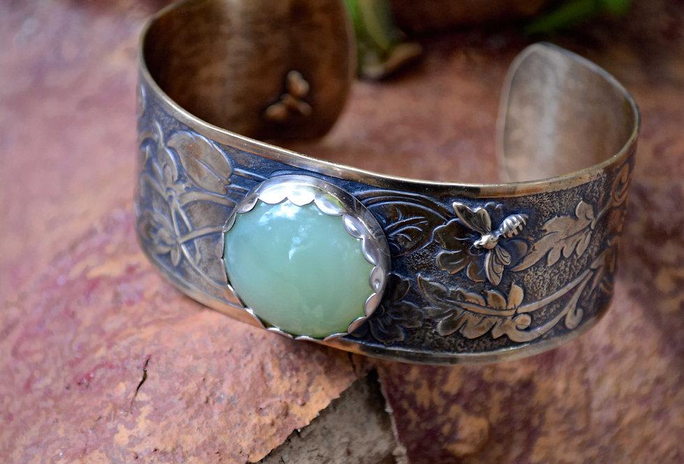Summer Garden .. Cuff Bracelet