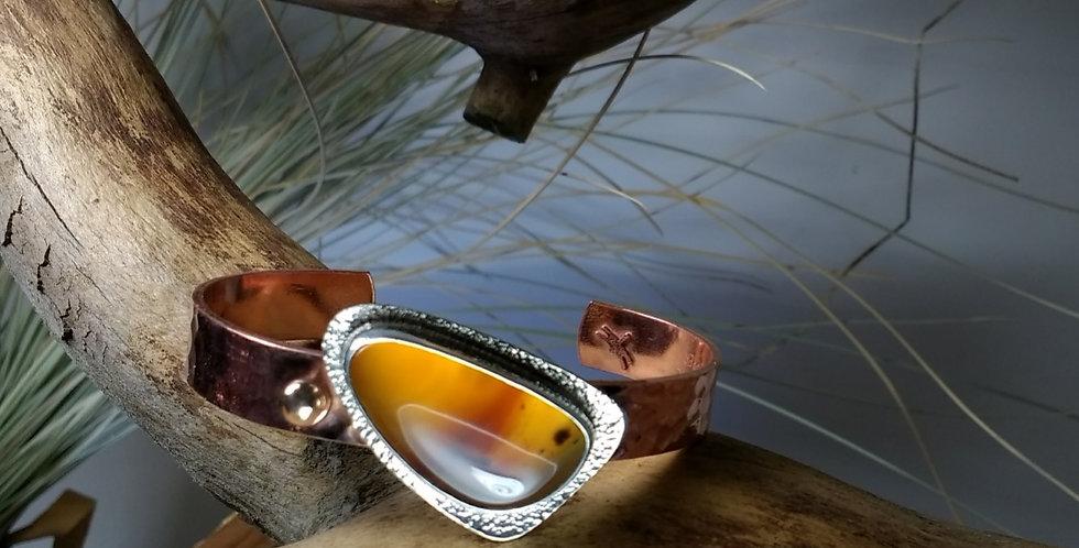 Montana Agate Cuff Bracelet