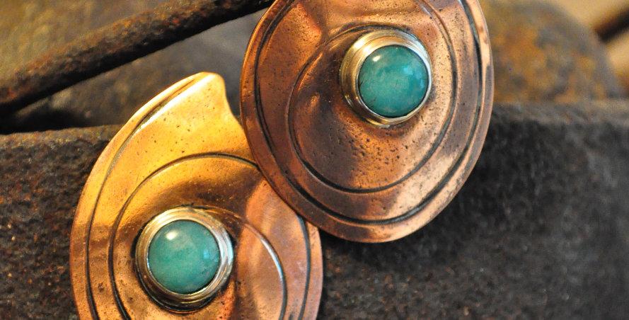 Ultra retro copper amazonite