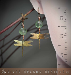 earrings_dragonfliesRusticFluorite