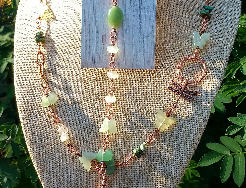 Bracelet .. Dragonfly, Butterflies & Bears Oh My