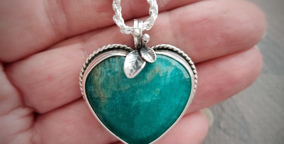 Teal Green Heart