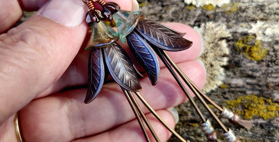 Copper Belle Flowers
