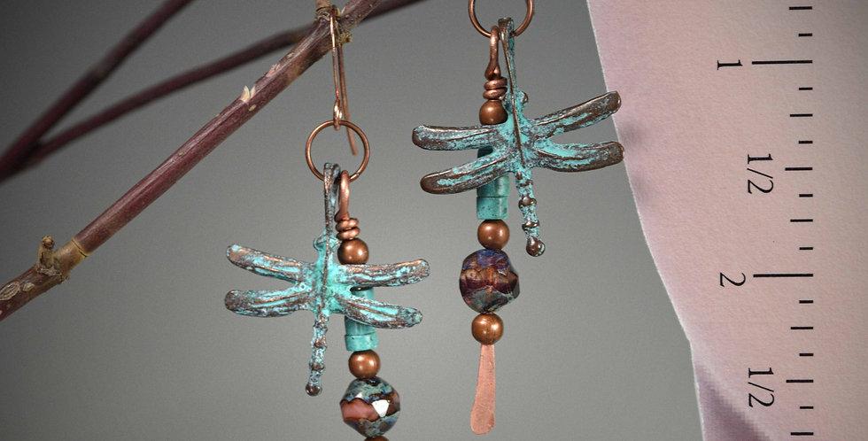 Mykonos Dragonflies copper
