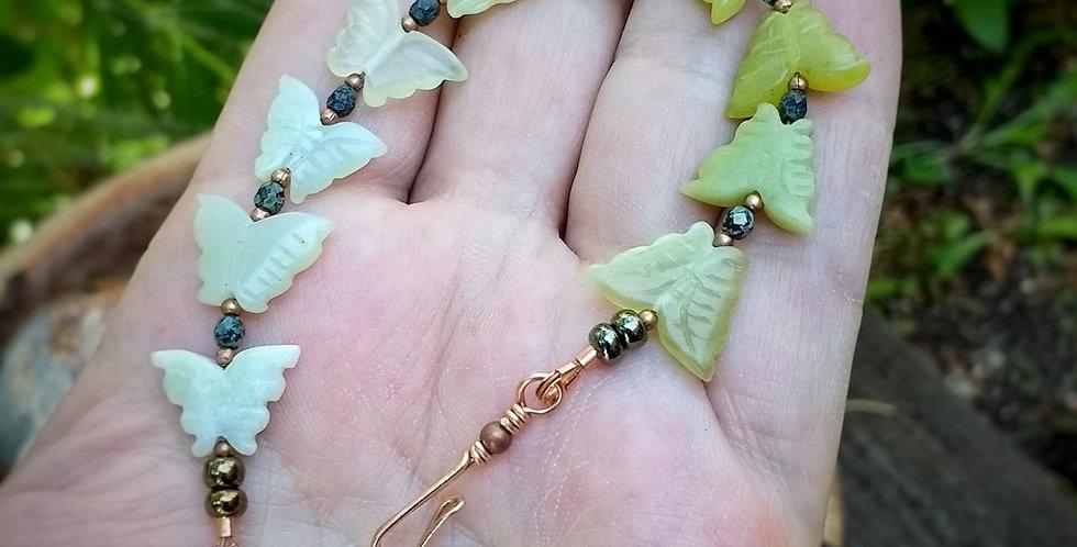 Ombre Butterflies .. bracelet