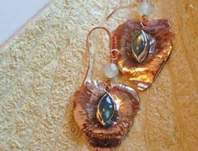Copper Leaves labradorite