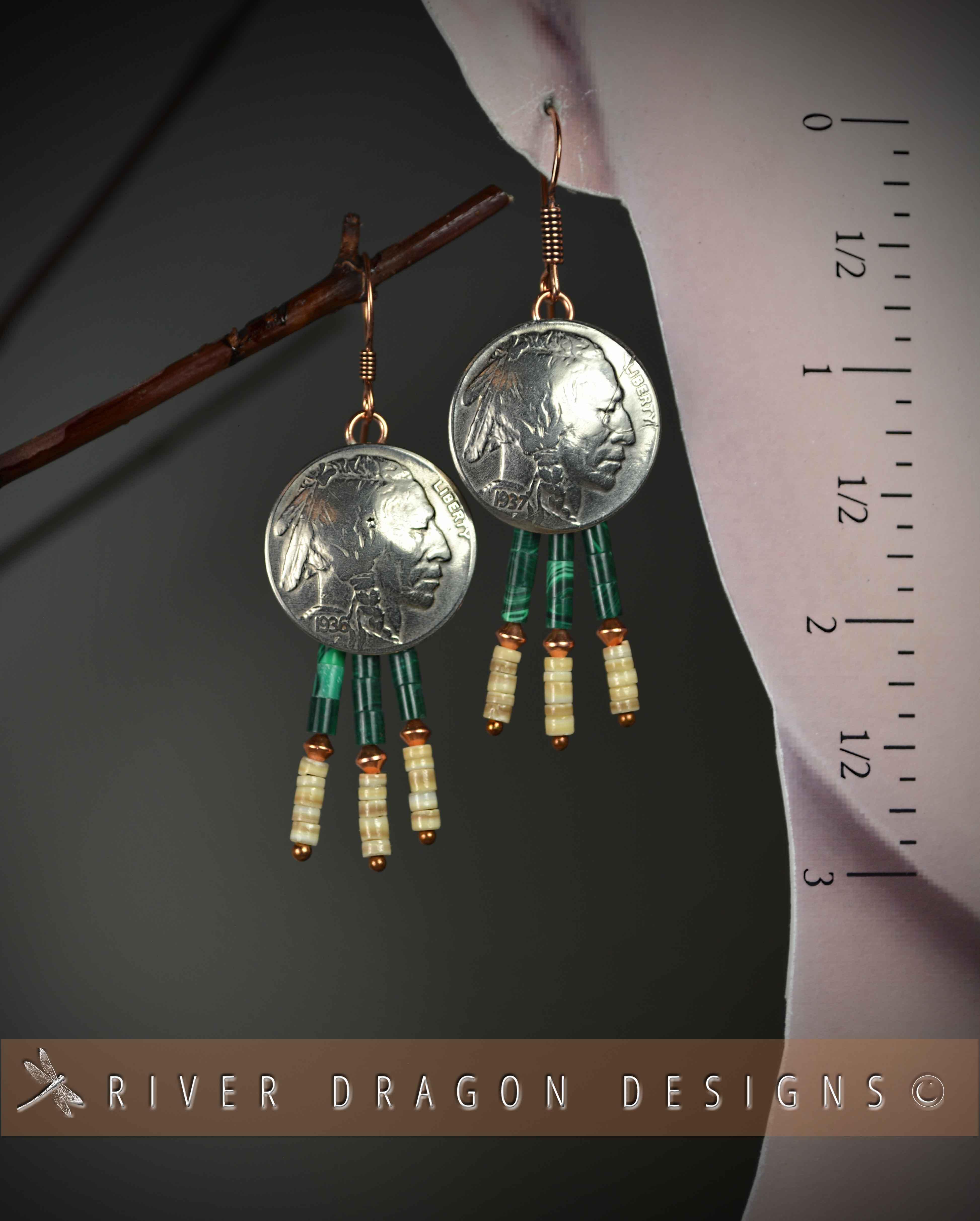 earrings_BuffaloNickelChiefs