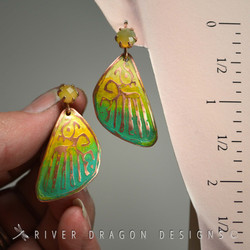 earrings_butterflyseriesSpringGreens