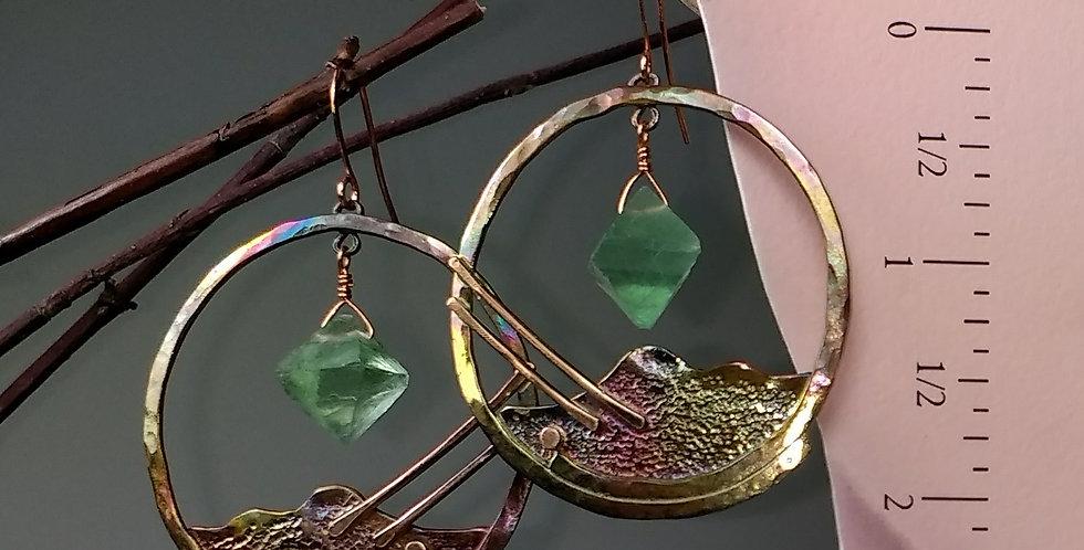 Mountain Rain earrings