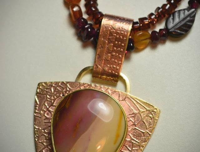 Autumn Winds .. necklace set