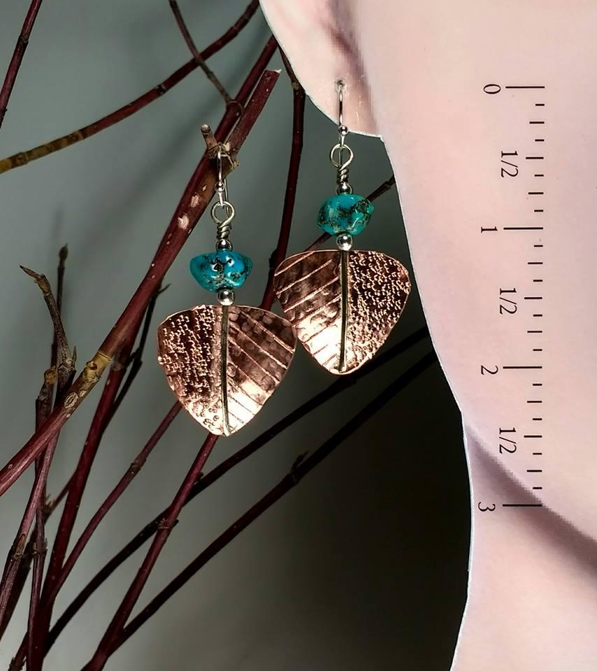 earrings_turquoiseNuggetsCopper