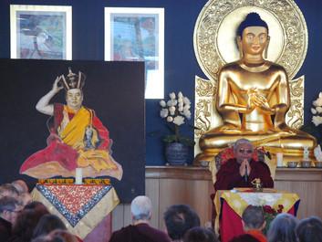 16. Karmapa Meditation in Dhagpo