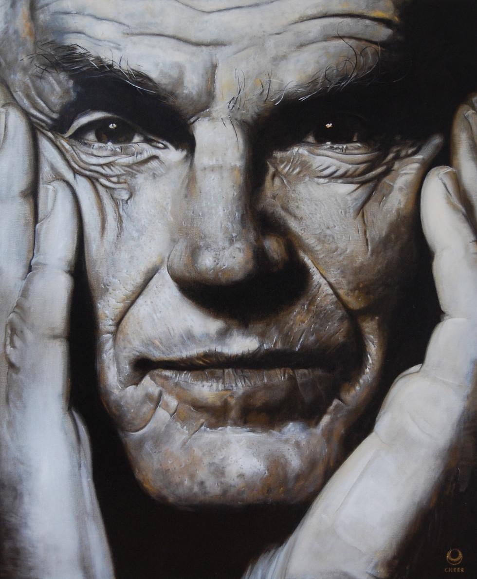 Ole Nydahl 2014 Oel on  Canvas 100cm X 120cm