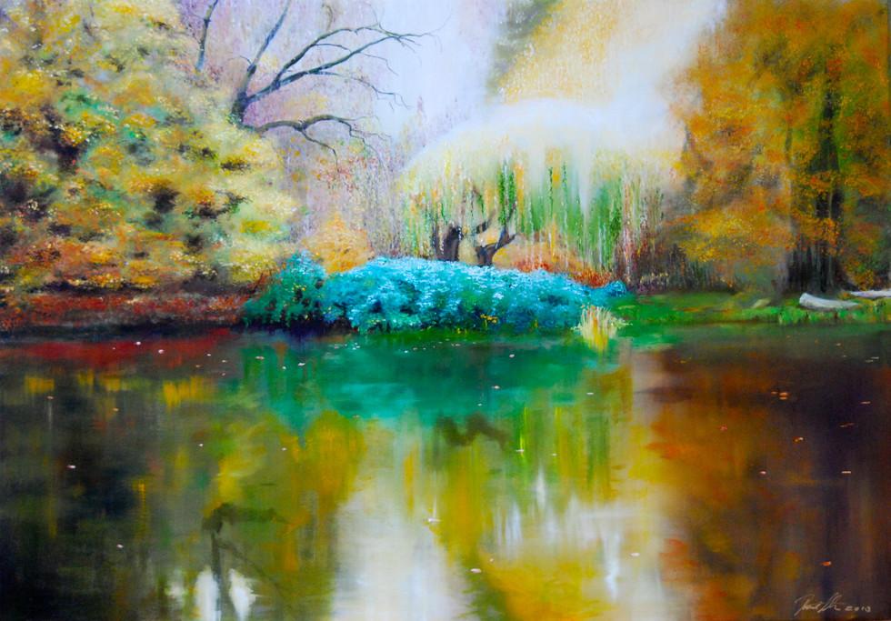 Zauberbaum 2014 Oil on Canvas