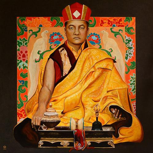 Shamar Rinpoche und 16.Karmapa double Print