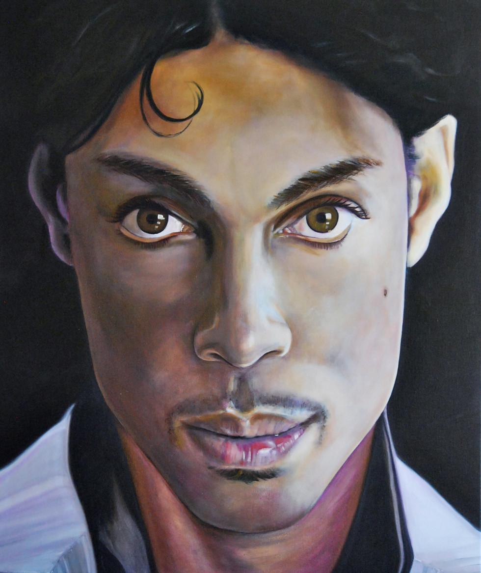 Prince 2016 Oil on Canvas 100cm x 120cm