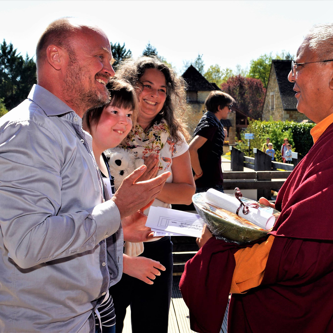 with Jigme Rinpoche