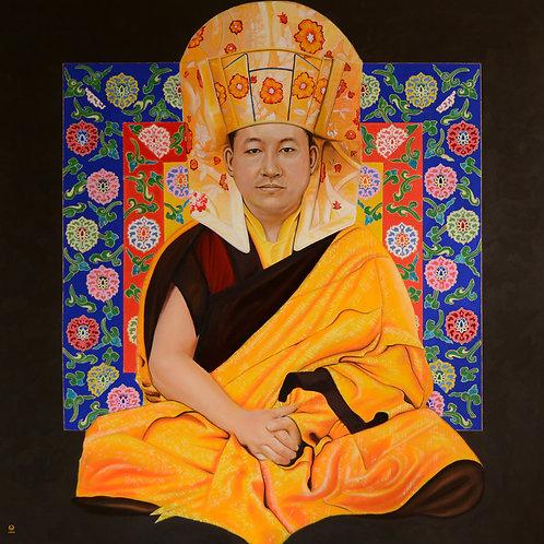 Print: 17.Karmapa Trinley Thaye Dorje