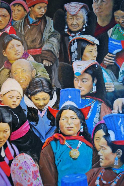 Cards Himalayan Faces