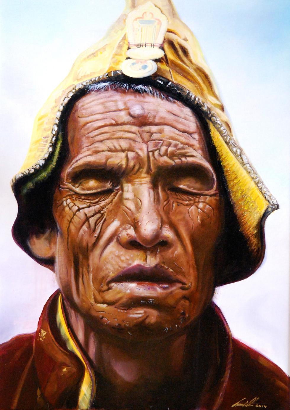 The Pilgrim Oel on Canvas 2014 50cm x 70cm