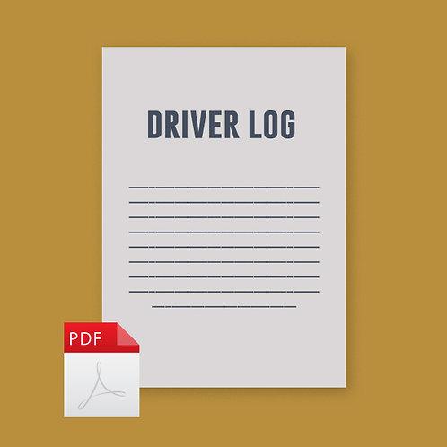 Driver Log