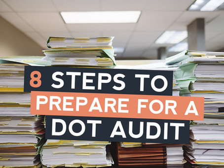 8 essential steps to prepare for a DOT audit