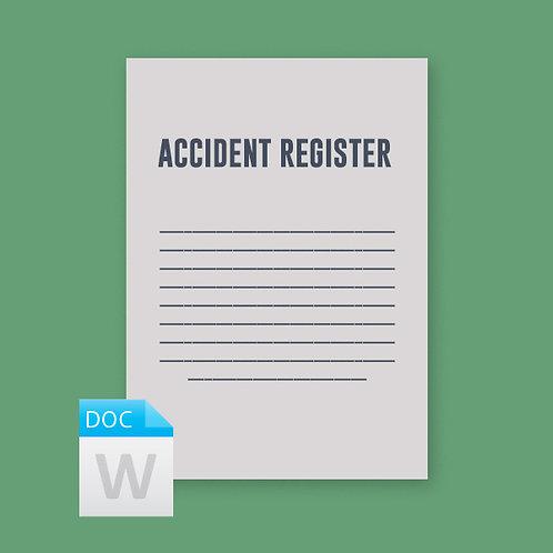 Accident Register