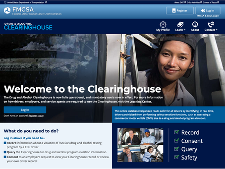 What is the FMCSA's Drug & Alcohol Clearinghouse?