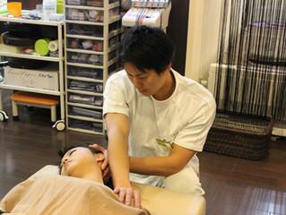 首・肩の痛みでお悩みの方は住之江区のふじい鍼灸整骨院へご相談ください(予約状況)